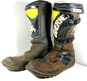 Gaerne Balance Brown Leather Oiled Motorcycle Boots Size 12