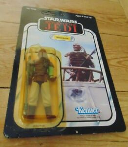 Star Wars ROTJ Weequay Carded Kenner Vintage