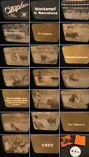 16mm Film-Kalle Ozaphan 1930.Jahre-Stierkampf in Barcelona- Realfilm