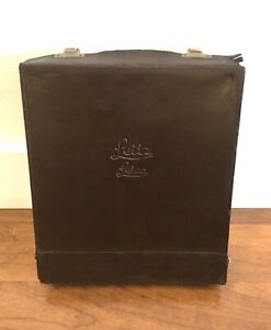 Vintage Leitz Leica leather system accessory case