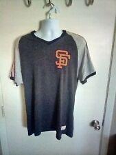 San Francisco Giants Mitchell & Ness Charcoal/Grey T-Shirt Size XL T Shirt