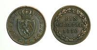 pcc1587_65) GERMAN STATES  - 1 KREUZER 1830 NASSAU