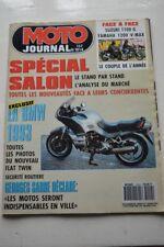 MOTO JOURNAL 1014 YAMAHA 1200 Vmax SUZUKI GSX 1100 BMW Boxer Georges SARRE 1991