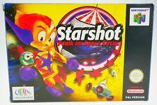 Starshot - Panik im Space Circus - komplett in OVP Nintendo 64 N64 boxed CIB