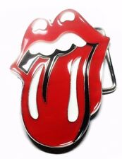 The Rolling Stones Tongue Logo Metal Enamel Belt Buckle