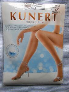 KUNERT Fresh up 10 Feinstrumpfhose TRANSPARENT MATT-SCHIMMERND 12den cashmere