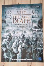 Filmposter Filmplakat A1 DINA1- City of life and death Das Nanjing Massaker Neu