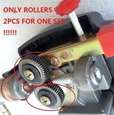 One Set Toothed Roller MIG Gun Spool Gun Wire Feed Aluminum Welder Gun Torch