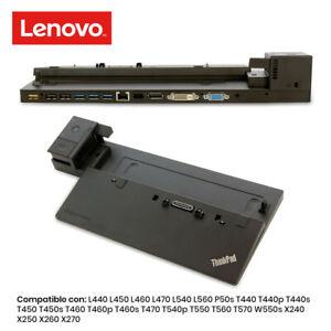 DOCK STATION LENOVO PRO DOCK 40A1 T440s T450 T450s T460 T460p T460s T470 T540p