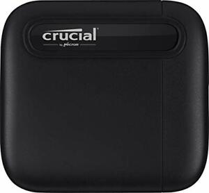 Crucial Technology CT500X6SSD9 Crucial X6 500gb Portable Ssd