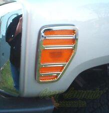 Hummer H3 Billet Chrome Blinker / Marker Light Covers Surrounds