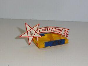 Galerie avec Etoile cirque PINDER 404 Peugeot DINKY toys ensemble d'ORIGINE