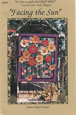 Facing the Sun ~ Quilt Quilting Pattern ~ by Sharon Hultgren Designs 9804