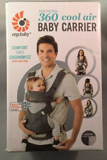 Ergo Baby 360 FOUR POSITION Carrier - CARBON GREY - Authentic