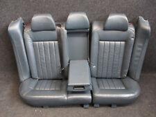 W8 LEDER Rücksitzbank VW Passat 3BG Variant Rückbank Ausstattung PETROL grün