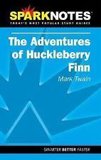 Spark Notes The Adventures of Huckleberry Finn by Mark Twain