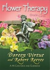 Flower Therapy Oracle Cards: A 44-Card Deck and Guidebook by Doreen Virtue (Engl