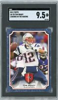 2013 Topps Legends In The Making #LM-TB Tom Brady SGC 9.5 Mint+
