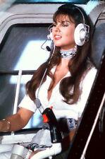 Caroline Munro flys helicopter Spy Who Loved Me 11x17 Mini Poster
