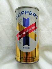 7oz Ruppert Knickerbocker Beer Steel Pull Tab Beer Can Jacob Ruppert New York