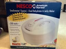 Nesco Snackmaster Express Fd-60 500W Food Dehydrator & Jerky Maker