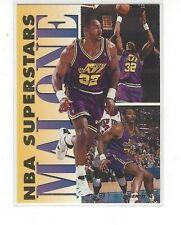 1993-94 FLEER BASKETBALL NBA SUPERSTARS KARL MALONE #10 OF 20 - UTAH JAZZ