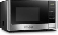 BLACK + DECKER Digital microwave with revolving door and child safety button 0.9