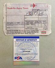 Frank Sutton Signed Credit Card Receipt Cut Autograph GOMER PYLE PSA/DNA