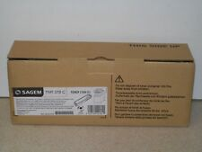 SAGEM TNR 378C TONER CYAN (C) CARTRIDGE Ref: 252421681 - BRAND NEW IN BOX