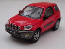 Toyota RAV4 2000 Diecast 1/72 Model. Red. Hongwell. SUV.