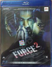 FORCE 2 BLURAY - JOHN ABRAHAM - 2017 HINDI MOVIE / SPECIAL EDITION / REGION FREE