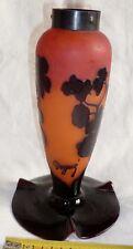 Degué 1930 Pied de lampe pâte de verre ART DECO ORIGINAL France à compléter