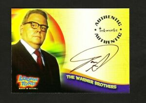LOONEY TUNES BACK IN ACTION AUTOGRAPH CARD A7 DAN STANTON