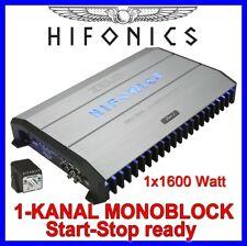 Hifonics Zeus ZRX1501 - 1-Kanal Monoblock Endstufe Verstärker 1600WATT 12V