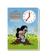 Uhrenbuch, Uhrenlernbuch Kleiner Maulwurf von Zdenek Miler (Gebundene Ausgabe)