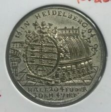 1716 Germany Heidelberg Medal - Wine Cask