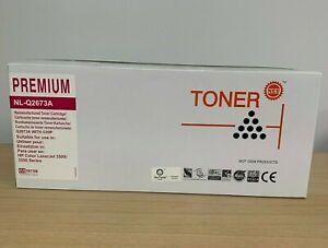 NEU Pink Premium Toner Cartridge Compatible with HP LaserJet 3500/3550 NL-Q2673A