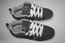 Mens GRAY OCEAN PACIFIC SKATER SHOES Skateboard ATHLETIC LACE UP Faux Suede 7.5