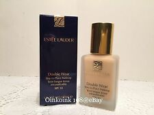 Estee Lauder Double Wear Stay-in-Place Makeup Foundation SPF10 ~1W1 Bone~BNIB