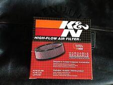 Harley Luftfiltereinsatz E-2470 WL WLA WLC Indian UL VL air filter insert K&N