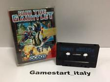 RUN THE GAUNTLET - COMMODORE 64 C64 - USATO USED - TAPE