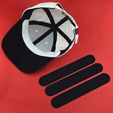 10Pcs Absorbent Sweat Hat Liner Strips Pads Baseball Flat Sun Cap Hat Clean Wm