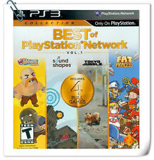 PS3 SONY Playstation Best of PlayStation Network Vol. 1 Misc Sony Computer