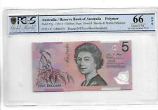 Australia/Reserve Bank of Australia pick 57g 2012 5 Dollars PCGS 66 OPQ