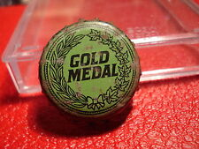 Gold Medal - Canada beer cap - Canadian crown - Cork lined