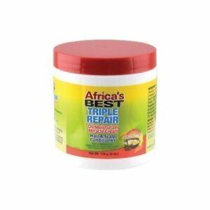 Africa's Best Triple Repair Oil Moisturizer Cream Hair & Scalp Conditioner 170g