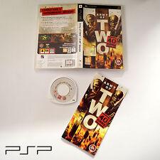 [ PSP ] Army of TWO : Il 40° Giorno PAL Usato con Manuale Ottime Condizioni