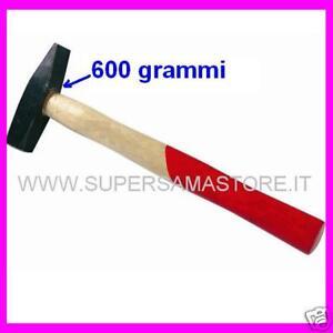 3S MARTELLO BANCO TIPO TEDESCO IN LEGNO DIN MAZZA 600 g