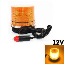 12V LED Rundumleuchte Blinklicht Warnleuchte Blitz Rotation KFZ Gelb Licht