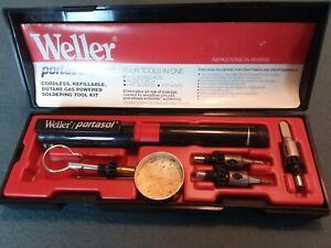 Weller Portasol P-1K, Cordless, Refillable, Butane, Soldering Tool Kit